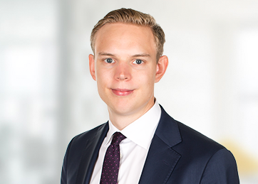 Jonatan Dahmén, Senior Tax Associate